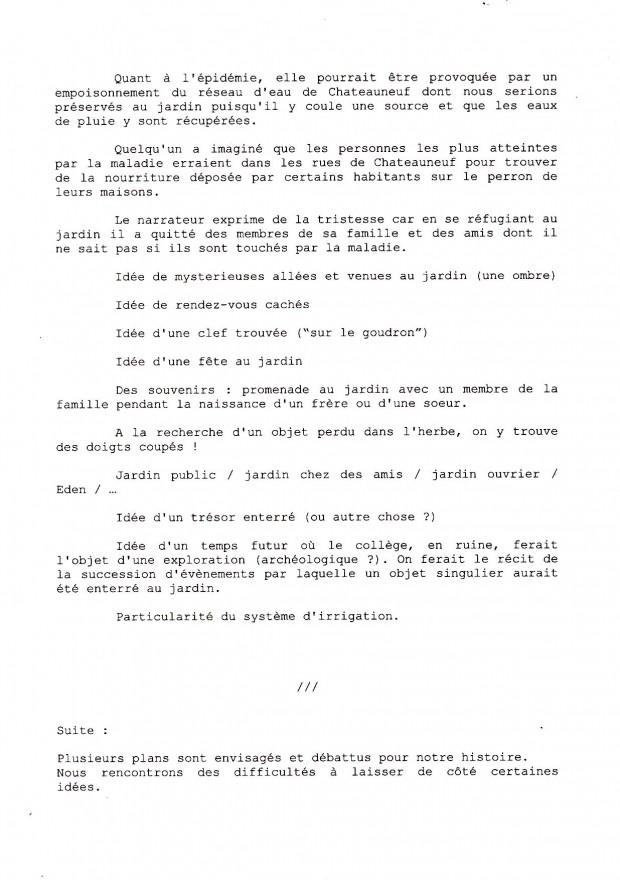 Souvent Chronique d'un atelier d'écriture au jardin – P.A.D.D. LQ51