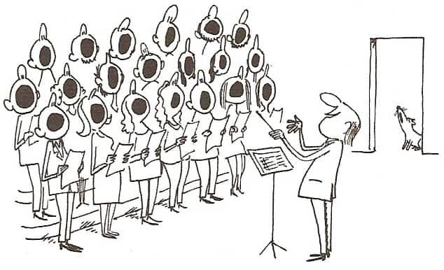 La chorale coll ge maurice genevoix - Chorale dessin ...