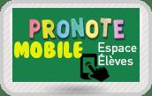 Pronote mobile élèves