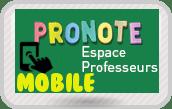 Pronote mobile Professeurs