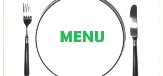 menu vert