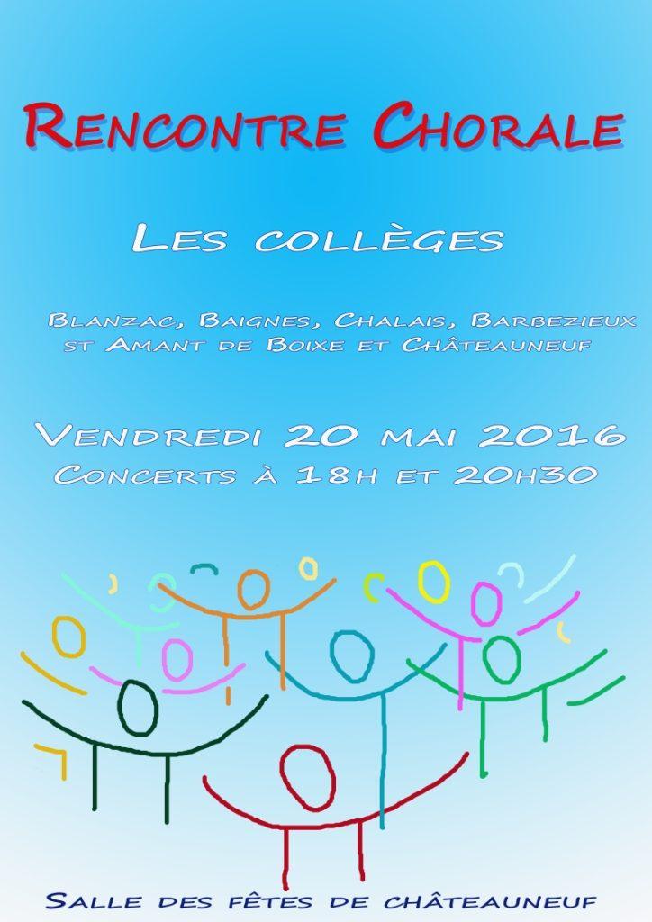 Affiche chorale b2 2016