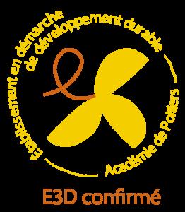 Suite au Comité Académique Partenarial en Éducation au Développement Durable, qui s'est tenu le vendredi 10 septembre 2021, l'établissement a obtenu le label E3D confirmé pour une durée de 3 ans. Ce label, gage de qualité du travail mené en EDD, reflète l'engagement global de notre collège depuis plusieurs années.